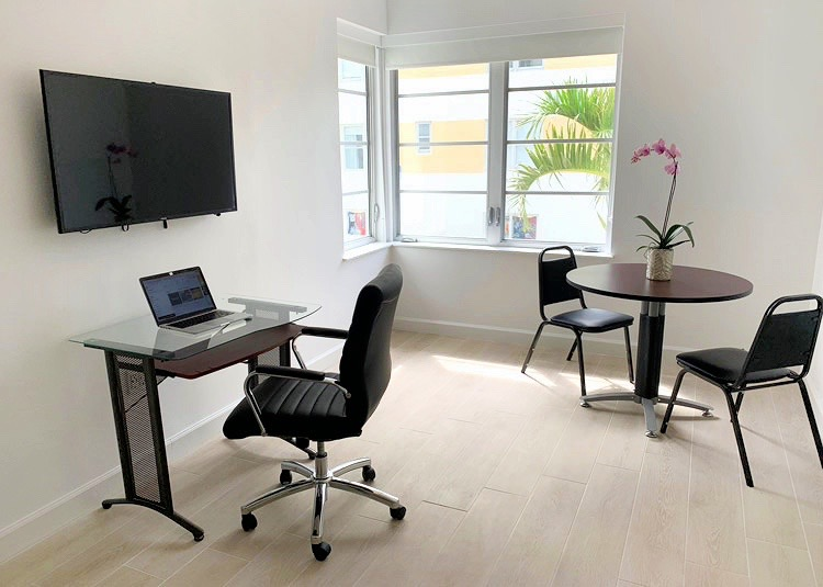 Work Space in Miami Beach
